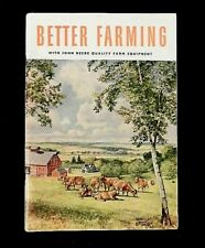 """1952 JOHN DEERE """"Better Farming"""" FULL-LINE CATALOG M D B A G BN GN AN TRACTOR"""