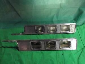 64 Dodge Polara Pair Of Potmetal Taillight Housing Bezel MOPAR 2424314 2424315