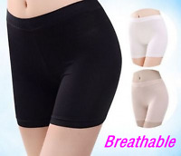 Women Safety Shorts Pants Leggings High Waist Plain Elastic Underwear New
