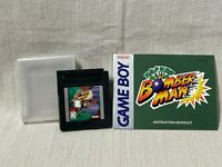 Pocket Bomber Man Nintendo Gameboy Game Cartridge Manual Authentic & Working