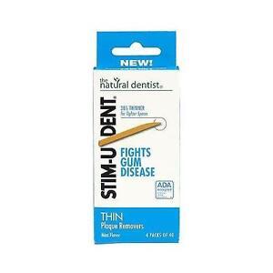 Stim U Dent Plaque Removers Thin Mint Flavor Fights Gum Disease 160 Ct