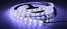Tira de LED 5050 Impermeable IP65 12V Luz Frío Hielo 9000K