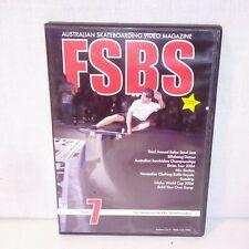 Australian Skateboarding Video Magazine 2004 FSBS Volume Seven Skateboard DVD