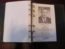 WINSTON-SALEM NC Vintage 1966 Rotary Club #769 Member Picture Photo Directory