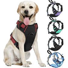 PAWABOO Soft Padded Vest Reflective Adjustable Strap Pet Dog Harness Travel Vest