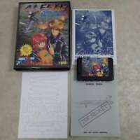 MSX2 Rare ALESTE 2 msx complete Game soft MSX working Shooter Cartridge