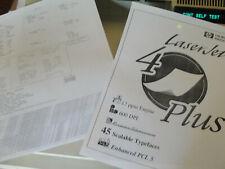 🔥 HP Laserjet 4Plus Printer C2037A +  HP LaserJet 4P Duplex Unit Duplexer
