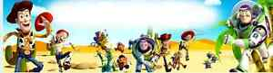 TOY STORY/BUZZ LIGHT YEARS art/print/painting/poster/banner w/name on it.