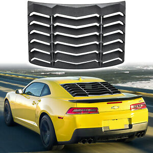 Rear Window Louver for Chevy Camaro 2010-2015 ABS Windshield Sun Shade Cover