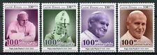 Guinea-Bissau Pope John Paul II Stamps 2020 MNH Popes Famous People 4v Set