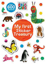 The World of Eric Carle My First Sticker Treasury, Parragon, New Book