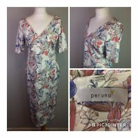 Marks and Spencer Per Una Floral Midi Dress Size 12