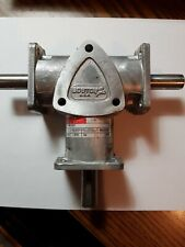 "Boston Gear RA1031 Ratio 1:1 1750 RPM 1.575 HP Right Angle Speed Reducer, 5/8"""