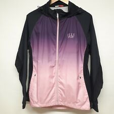 Elle Sport Running Lightweight Hooded Jacket Purple / Pink Size 14