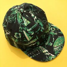 KTZ Kokon To Zai Green/Black/White Skull Scary Face Baseball Cap RRP: £145