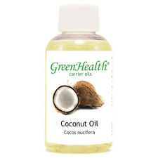 2 fl oz Coconut Carrier Oil (100% Pure & Natural) - GreenHealth