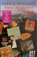 Stevie Wonder .. Original Musiquarium 1.  Vol 2  Import Cassette Tape