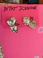 BETSEY JOHNSON MOUSE EARRINGS BOUGHT AND SOLD IN USA