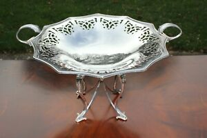 An Impressive size quality Vintage Silver Plated Comport Table Centrepiece