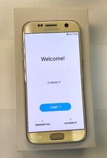 New Store Return Samsung Galaxy S7 SM-G930A 32GB Gold AT&T Cricket Unlocked