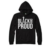 Black And Proud Hoodie, Black History Black Power Superheroes Month Hoodie Top