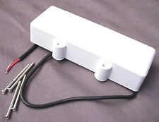 DOUBLE COVERED PICKUP FOR 5 STRING BASS GUITAR - WHITE