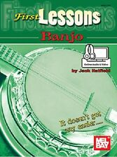Beginner Banjo First Lessons Book *New*