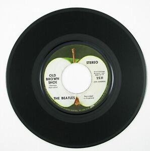 BEATLES Ballad Of John And Yoko/Old Brown Shoe 7IN 1969 ROCK/BRIT/INVASION VG++