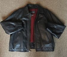 Wilsons Leather Mens Big And Tall Leather Jacket With Thinsulate Lining