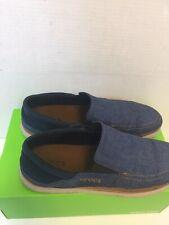 Crocs Dual Comfort Santa Cruza Playa Slip On Loafer Men's Size 11 Blue