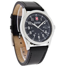 MENS INFANTRY VICTORINOX SWISS ARMY BLACK  WATCH 24653