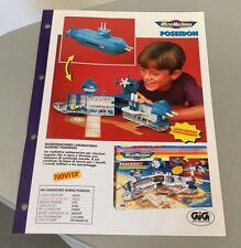 Vintage PAPER EXCLUSIVE# GALOOB MICRO MACHINES POSEIDON    #  RARE Camper & more