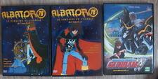 lot 2 dvd  albator  78   +  1  gundam