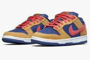 Nike SB Dunk Low Pro WHEAT AND PURPLE BQ6817-700 Authentic Men US 6 - 12