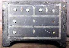 Early Welsh Carved Slate Inlaid Stone Empire Dresser Form Door Stop Folk Art