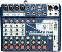 Soundcraft Notepad-12FX 12-Channel Compact Mixer with 4-Channel USB & Effects