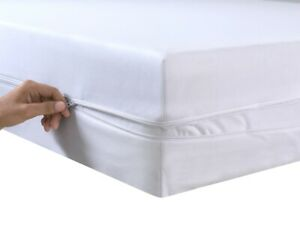 EXTRA DEEP 30CM MATTRESS PROTECTOR FITTED COVER SINGLE DOUBLE SUPER KING SIZE