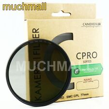 Camdiox CPRO 77mm Nano SMC Slim CPL Polarizing Filter for DSLR Lens Canon Nikon