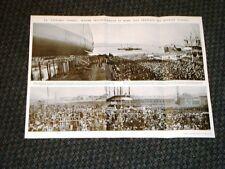 Trieste nel 1937 Varo nave Vittorio Veneto Maria Bertuzzi Reali Mons.Bartolomasi