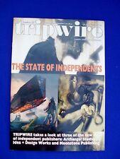 Tripwire vol4 no12 August 2002: UK  comics, music, media magazine.VFN