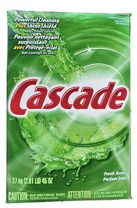 Cascade Dishwasher Detergent Plus ShineShield Powder Fresh Scent 45 OZ 2.81 LBS