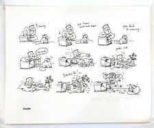 Simon's Cat Signed Numbered Giclee Art Print 256/380 Plus 5 Collector's Cards