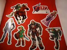 Legend of Zelda Ocarina of Time Nintendo 3DS Window/Wall Sticker Store Display