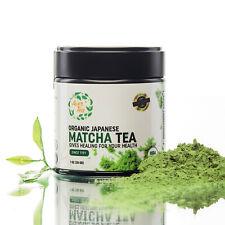 Aver Tea Premium Organic Japanese Matcha Green Tea Powder Ceremonial Grade latte