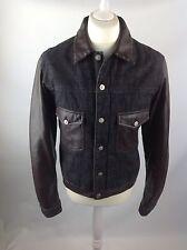 Versace Mens Jacket Black And Brown Large