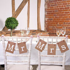 Just My Type Wedding Range - Full Range of Rustic Brown and Hessian Decorations