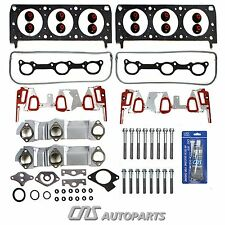 96-99 GM 3100 3.1L Head Gasket Set + Bolts Kit w/ UPGRADED Intake Manifo. Gasket