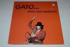Gato... Para Los Amigos~1983 Doctor Jazz W2X39204~Tenor Sax~PROMO~FAST SHIPPING