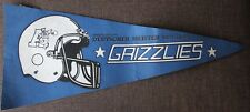 FOOTBALL WIMPEL FLAG * ANSBACH GRIZZLIES * DEUTSCHER MEISTER 1981 1982 1985