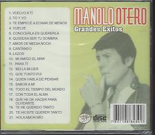 RARE cd balada 70s 80s MANOLO OTERO vuelvo a ti BELLA MUJER te he querido tanto